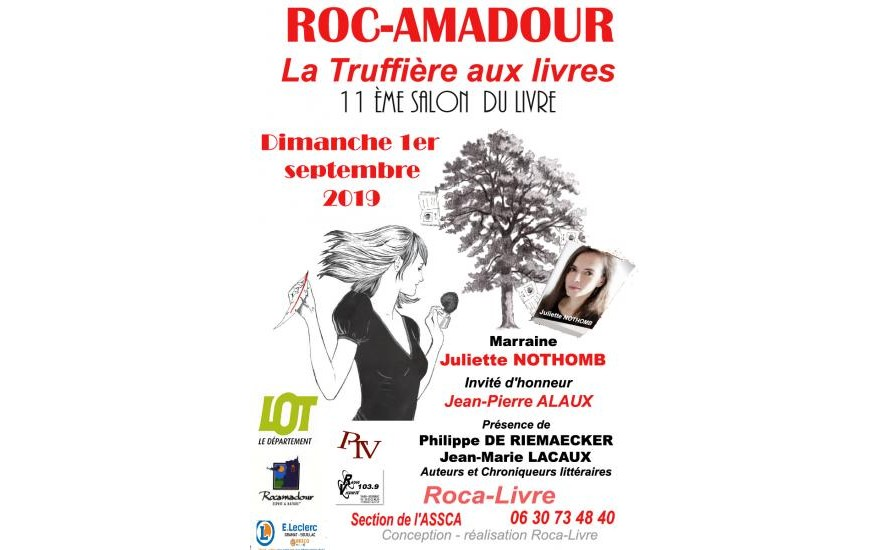 Interview sur radio.fr lors du salon de Rocamadour
